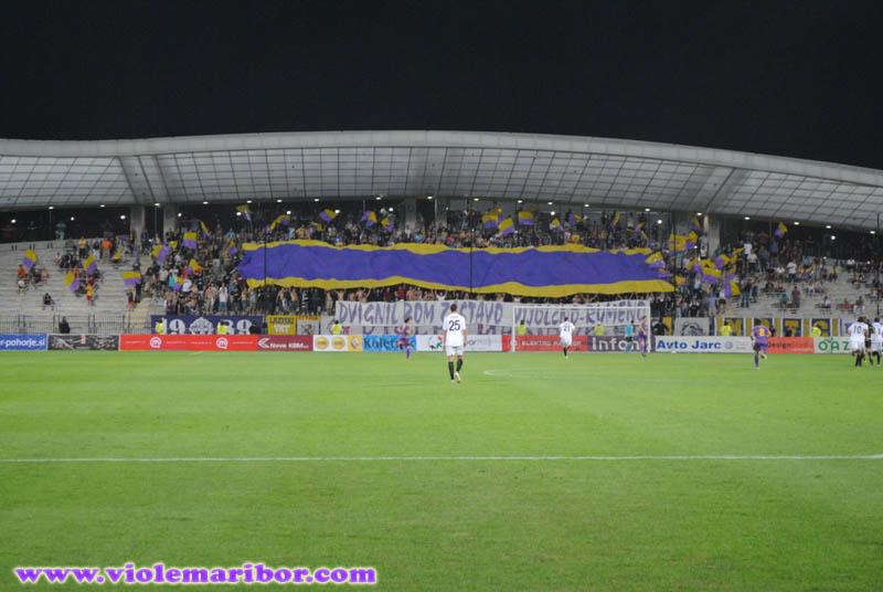 Povratna tekma 2. kroga kvalifikacij za Ligo Evropa, Maribor-Videoton, 22. juij 2010