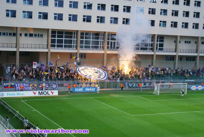 Prva tekma 2. kroga kvalifikacij za ligo Europa, Videoton-Maribor, 15. julij 2010